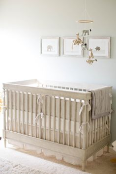 Baby Monroe and His Gender Neutral Safari Themed Nursery | The Little Umbrella