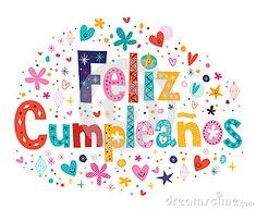 Feliz Cumpleanos - feliz cumpleaños en texto español