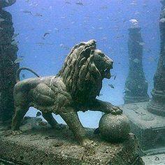 Palais englouti de Cléopâtre - Alexandrie (Égypte)