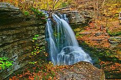 - Fulmer Falls - Childs State Park 2  by Allen Beatty