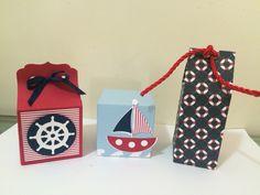 Caixas guloseimas Marinheiro  - By Papelinttê sailor party