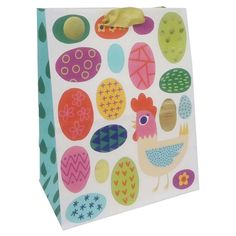Easter gift bag bundle 4 bags each with a different design 12 easter egg gift bag spritz negle Choice Image