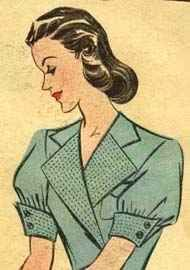 Hair was generally worn around shoulder length, carefully curled and styled close to the head. According to Hairfinder.com, 1930s hair was all about waves and curls. Found at http://adventuresofthereluctanthousewife.blogspot.com/2008/02/httpwww.html