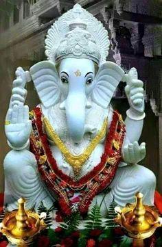 GANESHA Jai Ganesh, Shree Ganesh, Ganesha Art, Lord Ganesha, Shri Ganesh Images, Ganesha Pictures, Ganesh Wallpaper, Radha Krishna Wallpaper, Shiva Shankar