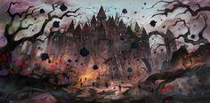 城 コンセプトアート - Google 検索