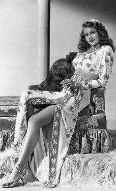 #classics #oldhollywood #RitaHayworth   Now you're looking at a real beauty!