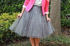Carrie Bradshaw tulle skirt
