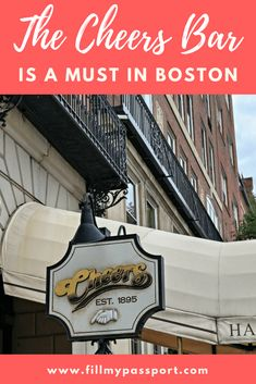 The Cheers Bar is a Must Stop on the Boston Trolley