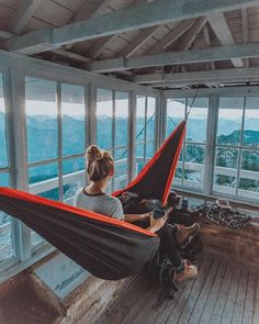 """I'd rather live to be 50 than survive until I'm 70"" - wise words that @AllyRenay's grandpa used to say.  #HammockTown #Hammocking #WomanWhoExplore Discover The Best Backcountry Camping and Hiking Hammocks   https://hammocktown.com/collections/camping-hammocks"