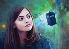 Clara Oswald by slugette on DeviantArt