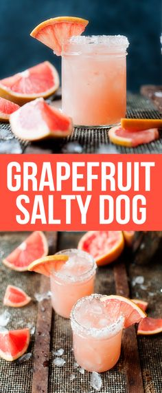 Grapefruit salty dog Healthy Roasted Chickpeas are the perfect healthy snack to satisfy your crunchy, salty snack cravings! Vegan, gluten free, portable and delicious! Non Alcoholic Drinks, Fun Drinks, Yummy Drinks, Healthy Drinks, Drinks Alcohol, Refreshing Drinks, Mixed Drinks, Smoothie Drinks, Smoothie Recipes