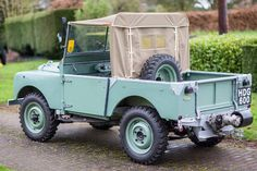 1948 Land Rover Series I  Maintenance/restoration of old/vintage vehicles: the material for new cogs/casters/gears/pads could be cast polyamide which I (Cast polyamide) can produce. My contact: tatjana.alic@windowslive.com