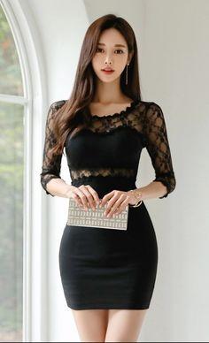 Dressy Dresses, Short Dresses, Classy Women, Sexy Women, Asian Fashion, Girl Fashion, Hot Japanese Girls, Cute Asian Girls, Beautiful Asian Women