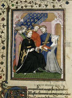 Queen's Book, fol. 178. Christine de Pizan.