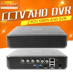 CCTV HD 1080N 720P AHD DVR Mini 4Ch AHD-NH/1080N Or 960H (Analog) Recording Video Recorder Support Multi Language Upto 4TB