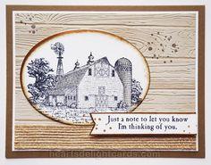 Heart's Delight Cards: Heartland Makes my Heart Happy!