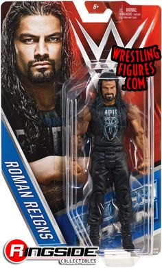 WWE Action Figure Series - Roman Reigns Item specifics Condition: New: A brand-new, unused, unopened, undamaged item (including handmade items). See the seller's Brand: Mattel UPC: 887961395501 WWE Action Figure Series - Roman Reigns Wwe Dvd, Ufc Workout, Sports Illustrated Kids, Wwe Wrestling Action Figures, Wwe Toys, Wwe Roman Reigns, Big Show, Kids Sports, Wwe Superstars