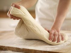 Baking without eggs might need a little experimentation, here's our 101: Baker kneading dough