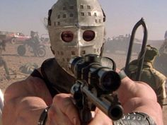 """Lesson Watch Mad Max a. """"The Road Warrior."""" This is the greatest film ever made about post apocalyptic survival. Helps prepare yourself for when guys that look like Jason are firing rifles at you on souped up rusty motorbikes in the desert. Chernobyl, King Kong, Os Goonies, Mafia, Mad Max 2, The Road Warriors, Post Apocalyptic Fashion, Apocalyptic Movies, Armadura Medieval"""