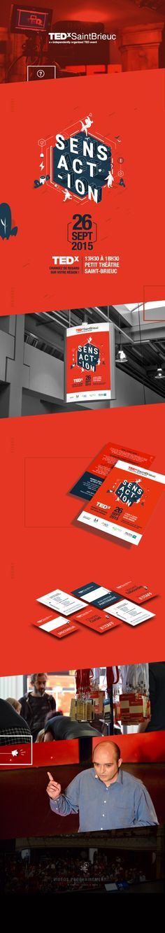 TEDx - SaintBrieuc on Behance