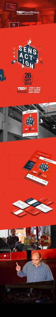 TEDx - SaintBrieuc on Behance