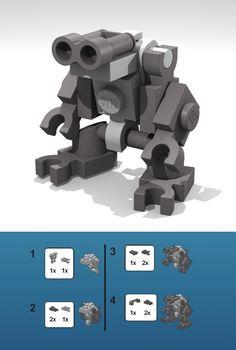 how to make a lego mini robot - Google Search