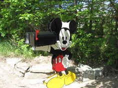 Mickey Mouse mailbox