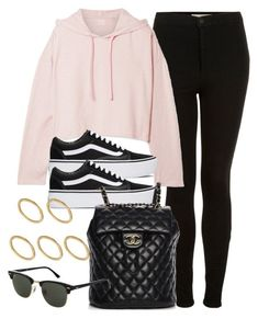 """Sin título #14538"" by vany-alvarado ❤ liked on Polyvore featuring Topshop, WE/ME, Vans, Chanel and Made #polyvoreoutfits"