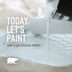 Paint your way to peaceful with our Color of the Month, Light Drizzle. Click below to explore this calming hue.