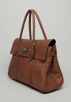Mulberry / The Bayswater...snakeskin leather