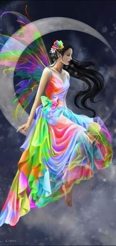 I chose this picture because of how colorful it is. The dress is very magical and flowy. I love how it looks so effortless and elegant.