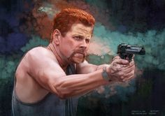 The Walking Dead - Abraham by on DeviantArt Walking Dead Series, Walking Dead Season, Fear The Walking Dead, Amc Networks, Abraham Ford, Babylon 5, Dead Zombie, Sci Fi Characters, Buffy The Vampire Slayer