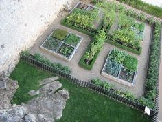 Potager Garden vegetable pictures