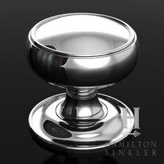 Door Knob - alternate idea: instead of trying to match detail, match shape. HK092 | Hamilton Sinkler
