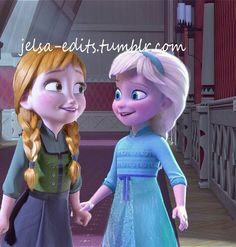 Elsa and anna!!! I really like this❤❄