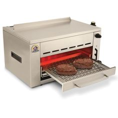 The 1,400 F Searing Grill - Hammacher Schlemmer