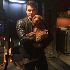 Bring your dog to work day. #AgentsofSHIELD