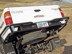 1008 Toyota Tacoma+all Pro Tubular Rear Bumper - Photo 29240863 - 2001 Toyota Tacoma - Zuk's Taco Toyota Tacoma Trd, Toyota 4x4, Toyota Trucks, Toyota Hilux, Truck Camping, Diy Camping, Tacoma Bumper, Pickup Accessories, Diy Camper Trailer