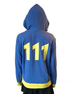 Fallout 4 - Vault 111 Unisex Official Licensed Hoodie - Gamer Heaven