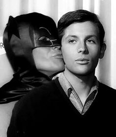 Bruce & his youthful ward Dick...
