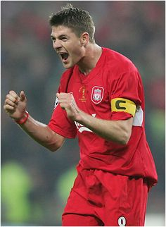 Happy Birthday to Steven Gerrard of Liverpool. At 32, he looks half his age. #soccer #football
