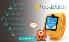 dokiWatch: Worlds Most Advanced Kids Smartwatch | Indiegogo