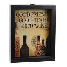 Love this... Wine Cork Holder Box   Kirkland's