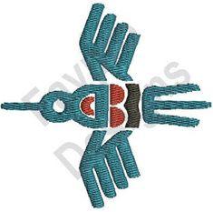 Native American Bird - Machine Embroidery Design