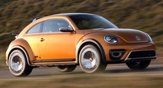 June 2014 VW Releases New Photos of the Beetle Dune, Says it Could be Built