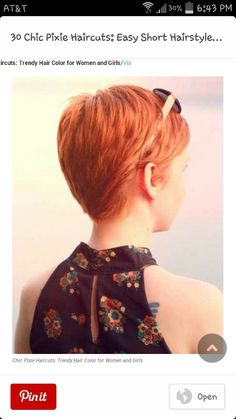 Back of pixie
