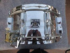 "Tama 14 x 6.5"" Imperialstar Steel Snare Drum Vintage 80s imperial Star"