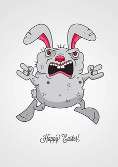 Happy Easter! on Behance