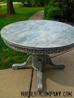 Driftwood Wash Look Table   Hueology Studio