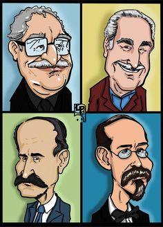 Como ha cambiado la cara de nuestros escritores colombinos